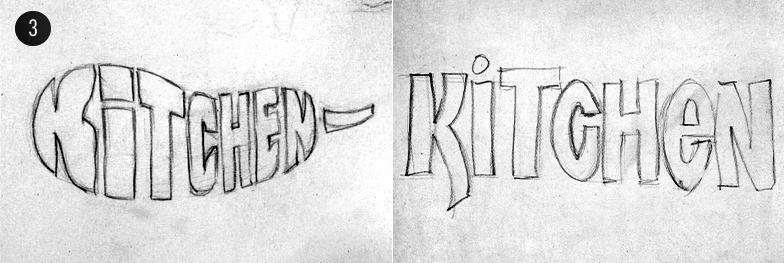 02 31 Логотип для кафе «Kitchen»