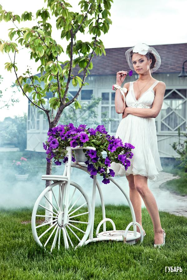 3Y4W7695 бабушкин сад, Свадебная фотосессия