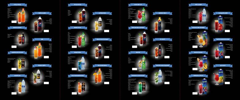 PEPSI Cocktail Card 02 Pepsi Coctails